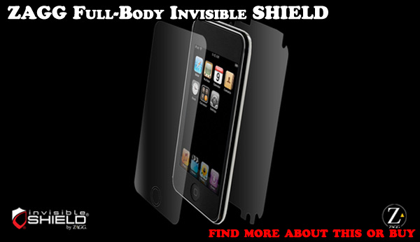 Zagg Invisible Shield - invisible protection with lifetime warranty