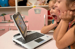Laptops can be helpful to your kids