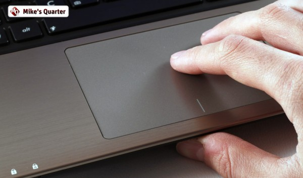 The trackpad is accurate and comfortable to use